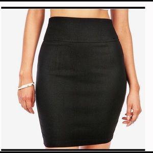 Windsor Black Pencil Skirt Size L